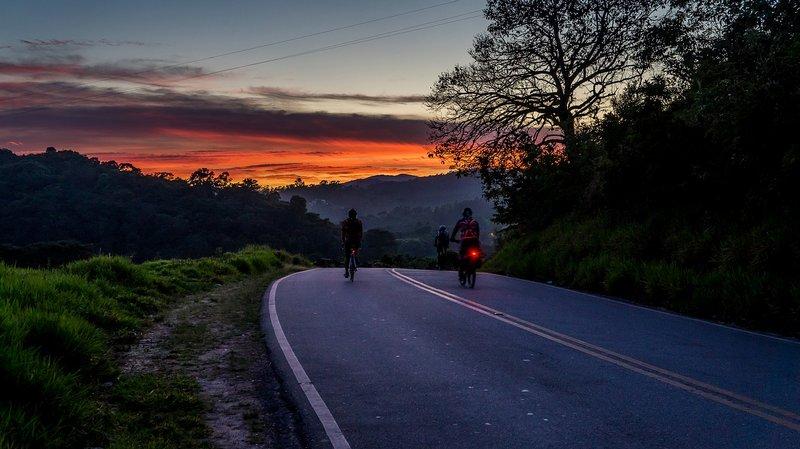 wieczorna wycieczka rowerowa
