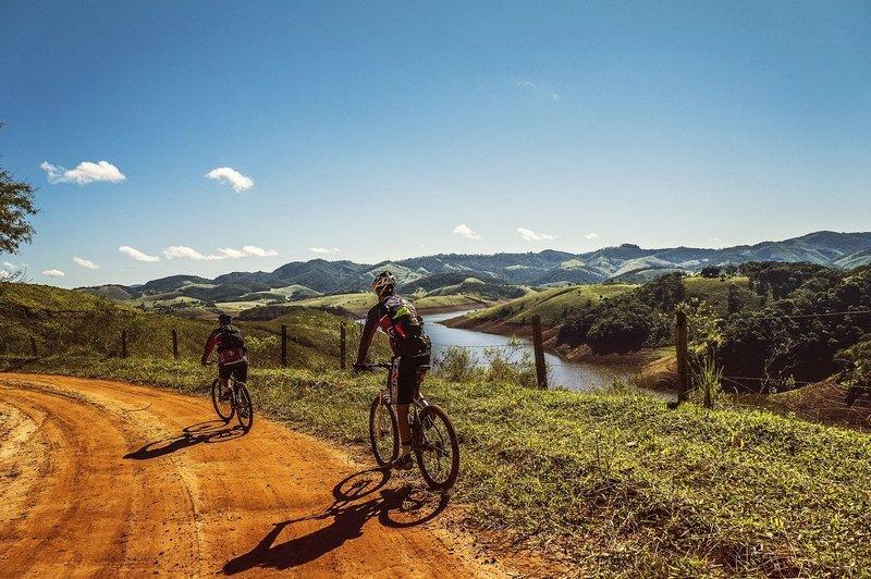 Górski szlak rowerowy